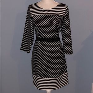 New New York and Company striped dress